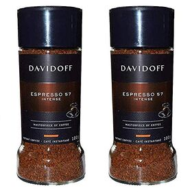 Davidoff Expresso 57 Intense Coffee Bottle, 2 X 100 g
