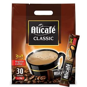 Alicafe Classic 3 in 1 Instant Coffee 30 X 20g 600g