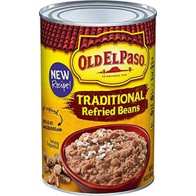 Old El Paso Traditional Refried Beans, 453 g