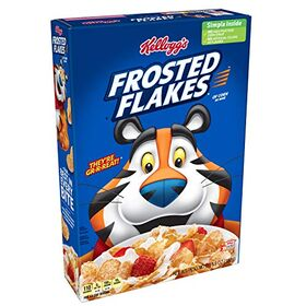 Kellogg's Frosted Flakes Fat-Free Breakfast Cereal,382g