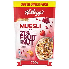 Kellogg's Muesli with 21% Fruit and Nut, 750g