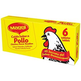 Maggi Chicken Flavor Bouillon Tablets, 2.4 oz