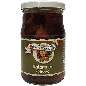 Montanini Olives - Kalamanta, 280g Jar