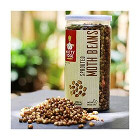 Nutty Yogi Roasted Sprouted Moth Beans - (Each 100 Grams, Pack of 4)