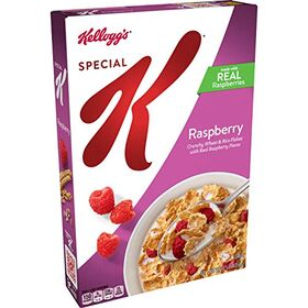 Kellogg's Special K Raspberry Crunchy Wheat & Rice Flakes Cereal 354g