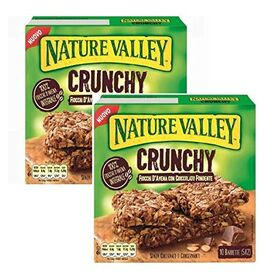 Nature Valley Crunchy Oats n Dark Chocolate (Pack of 2)