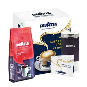 Lavazza IL Mattino Vivace, 200 g with Café Style Coffee DIY Kit