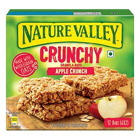 Nature Valley Crunchy Granola Bars, Apple Crunch, 252g