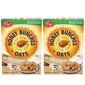 Post Honey Bunches of Oats with Vanilla Bunches- 2 Pack, 2 x 510 g
