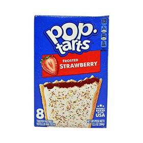 Pop Tarts Toaster Pastries, Frosted Strawberry, 8 Pack - 384g
