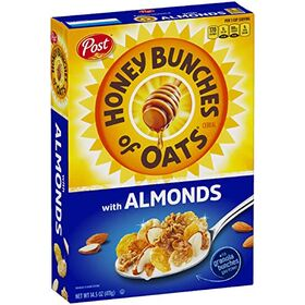 Post Honey Bunches of Oats with Crispy Almonds, 411 g