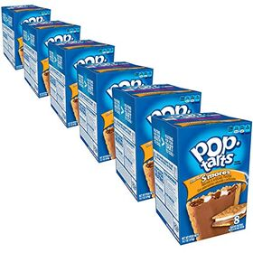 Pop Tarts Frosted S'Mores Pack of 6, x 416 g