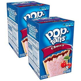 Pop Tarts Frosted Cherry Pack of 2 Pouch, 2 x 416 g
