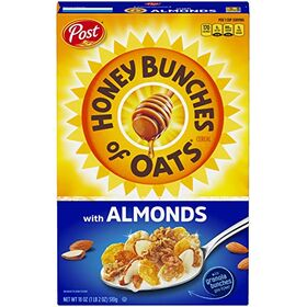 Post Honey Bunches Of Oats With Crispy Almonds Cereal - 18 Oz.