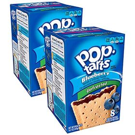 Pop Tarts Unfrosted Blueberry Pack of 2, x 416 g