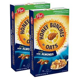Post Honey Bunches of Oats with Crispy Almonds- 2 Pack, 2 x 411 g