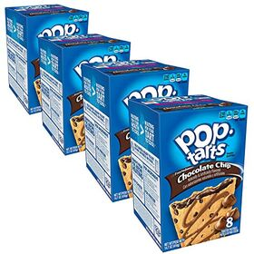 Pop Tarts Frosted Chocolate Chip Cookie Dough Pack of 4 Pouch, 4 x 400 g