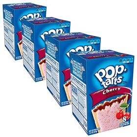 Pop Tarts Frosted Cherry Pack of 4 Pouch, 4 x 416 g