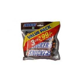 Snickers Value Pack 3PC (Pack Of 2)
