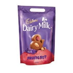 Cadbury Dairy Milk Fruit & Nut Bag, 400g