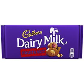 Cadbury Dairy Milk Fruit & Nut 300g