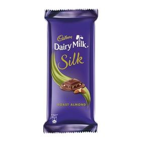 Cadbury Silk Roast Almond, 137 Grams