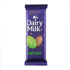 Dairy Milk Chocolate Mint Crisp 80g