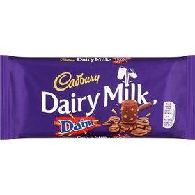 Cadbury Dairy Milk with Daim Chocolate Bar 120g