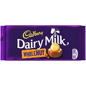 Cadbury Dairy Milk Wholenut, 300g