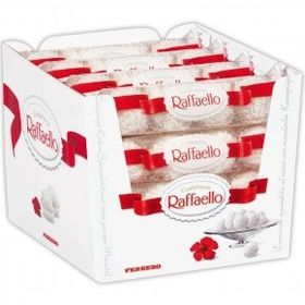 Ferrero Rocher Raffaello T3x16 box of 48 Balls, Free ChoocKick Eco Friendly Pen