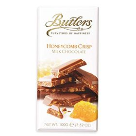 Butlers Honeycomb Crisp Milk Chocolate, 100G