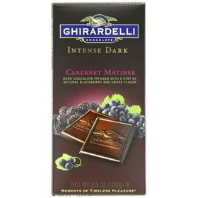 Ghirardelli Dark Chocolate Cabernet Bar 100g