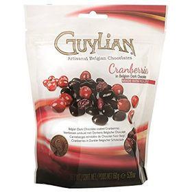 Guliyan Cranberries In Belgian Dark Chocolate Pouch, 150g