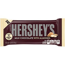 Hershey's Gaint Bar Mlk Choc and Almds, 120g