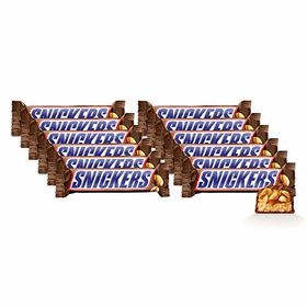 Snickers Chocolate Bar 50g Each (Pack of 12)