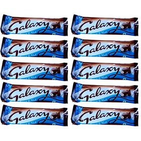Galaxy Chocolate - Fruit & Nut 36 gm (Pack of 10)