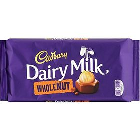 Cadbury Dairy Milk Wholenut, 120g