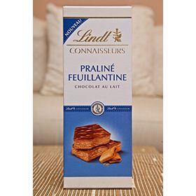 Lindt Connaisseurs Praline Feuillantine Chocolat Au Lait Bar 120g