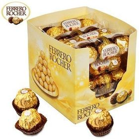 Ferrero Rocher Chocolates [16 x T3 Packs] 600g, Free ChoocKick Eco Friendly Pen