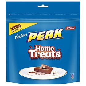 Cadbury Perk Chocolate Home Treats, (193 gm, Pack of 4)