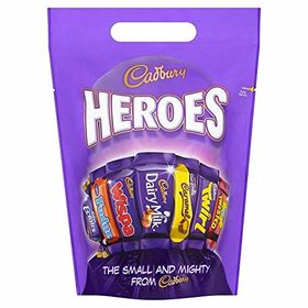 Cadbury Heroes Chocolate Pouch, 416g