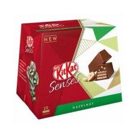 Nestle Kitkat Senses Hazelnut Flavour Chocolate Box (20pcs Approx), 200g