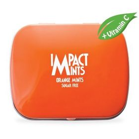 Impact Mints Impact Sugar Free Mints Orange, 14 g