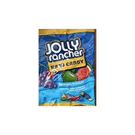 Jolly Rancher Hard Candy Assorted Original, 107g
