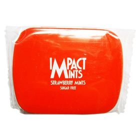 Impact Mints Impact Sugar Free Mints Strawberry, 14 g