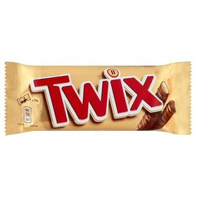 Twix Chocolate Bar 50g (Pack of 5)