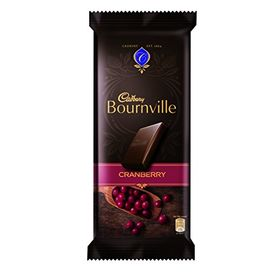 Cadbury Bournville Dark Chocolate Bar with Cranberry, 80g (Pack of 5)