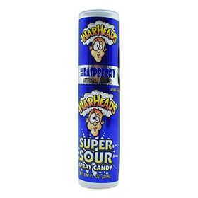 Warheads Super Sour Spray Candy, Blue Rasberry Flavored - 20ml (0.66oz)