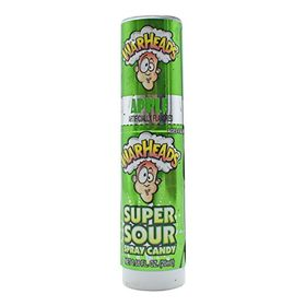 Warheads Super Sour Spray Candy, Apple Flavored - 20ml (0.66oz)