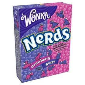 Wonka Nerds Strawberry & Grape 46.7g (Pack of 3)